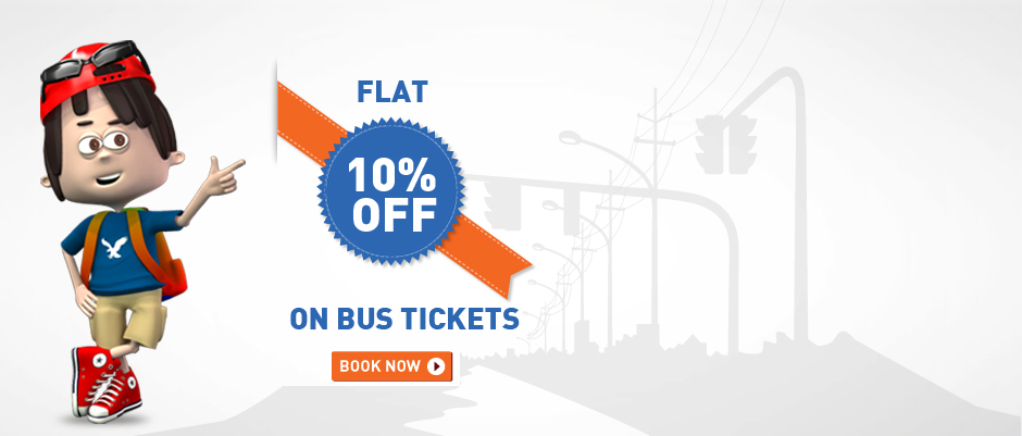 goibibo: flat 10% off on bus tickets